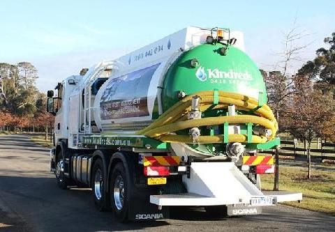 Septic tank cleaning truck Ballarat