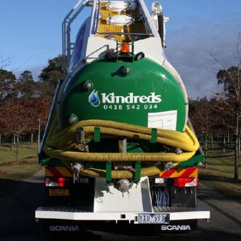 Grease trap cleaning truck Melbourne